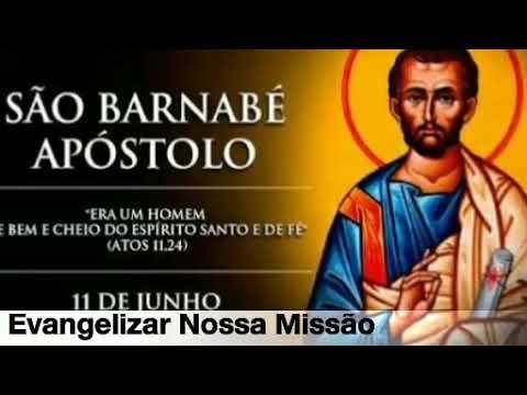 Santo do dia  - São Barnabé Apóstolo (11/06/2018)