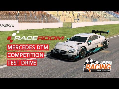 RaceRoom Mercedes C63 2017 DTM Competition Test Drive