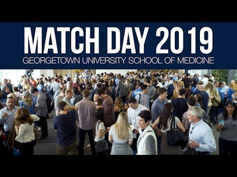 Georgetown Match Day 2019