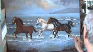 caballos en la playa DEF
