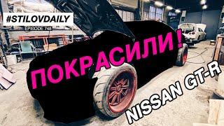 УВИДЕЛ НОВЫЙ ЦВЕТ NISSAN GT-R. ROCKET BOSS S14 В МАЛЯРКЕ
