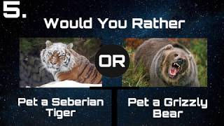 Would You Rather? Dangerous Animals Edition