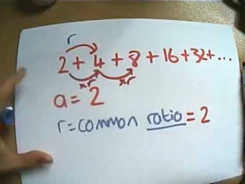 Intro to Geometric Series part 1
