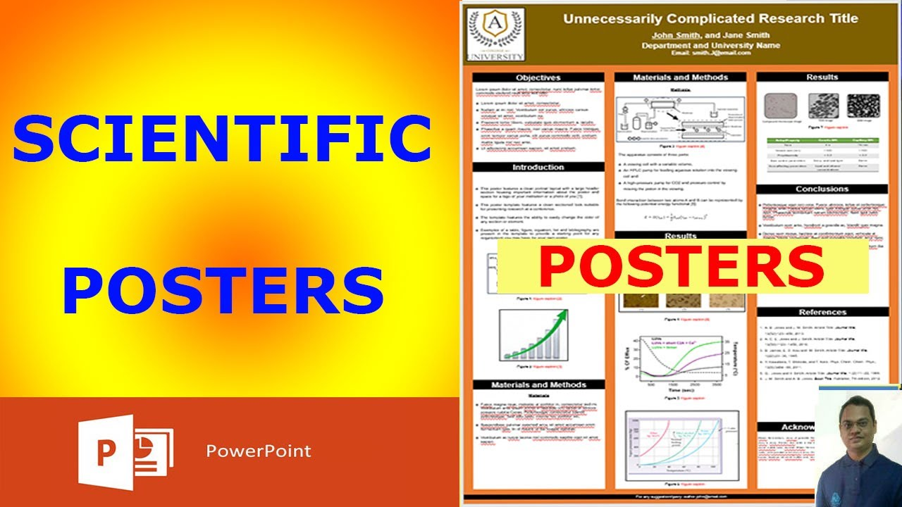 how to design a scientific poster in powerpoint
