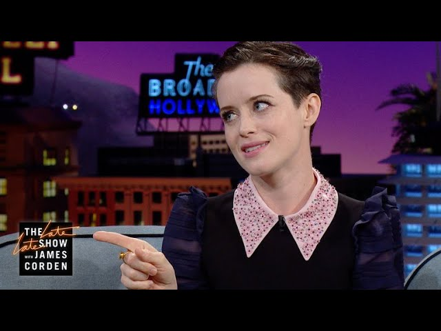 Claire Foy Teaches Method Man The Queen's English