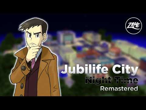 Jubilife City (Night Time): Remastered || Pokémon Diamond & Pearl - Extended