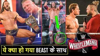 'Bada JHATKA Wrestlemania 36 Night 2 Me😲' Drew Wins WWE Title, Edge Firefly Wrestlemania Highlights