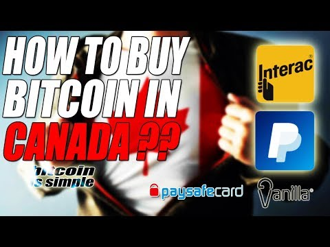 How To Buy BITCOIN In CANADA ?? PAYPAL, INTERAC, ETC !! BEST METHOD