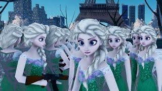 Elsa The Snow Queen Emerald Dress Frozen Fever GTA 4 MOD HD