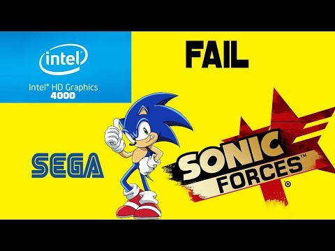 TESTING: SONIC FORCES on Intel HD Graphics 4000 | i5 8GB Ram