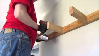 HOW TO BUILD FLOATING SHELVES (HOUSEOFMEIS) DIY