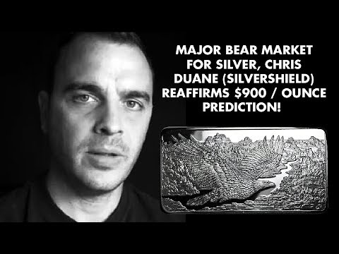 Chris Duane: SILVER $900 Forecast REAFFIRMED: Financial Reset Wipeout!