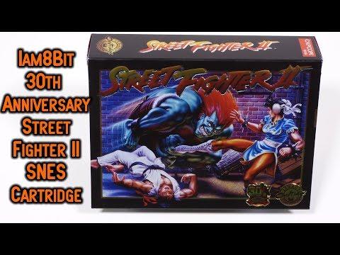 Street Fighter II 30th Anniversary Edition Super Nintendo Cartridge Iam8Bit