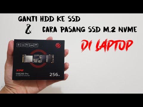 Pasang SSD di Laptop Lama, Apa yang terjadi???.