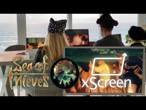 Как выглядит Sea of Thieves на Xbox Series S с xScreen