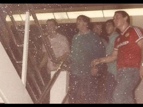 Koningin Beatrix - Man Utd V West Ham - 1986