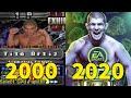 EVOLUTION  OF  UFC  GAMES  2000 - 2020
