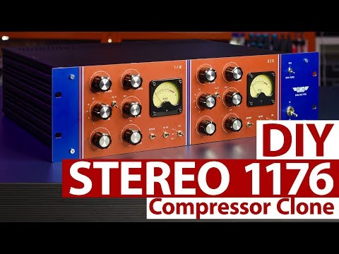 Stereo 1176 DIY Audio Compressor Kit (english)
