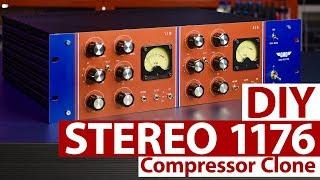 Stereo 1176 DIY Audio Compressor Kit (english)