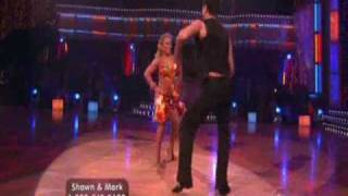 team shark mark ballas and shawn johnson dancing queen