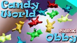 ROBLOX | CHOCOLATE!! | Candy World Obby | MicroGuardian | SallyGreenGamer