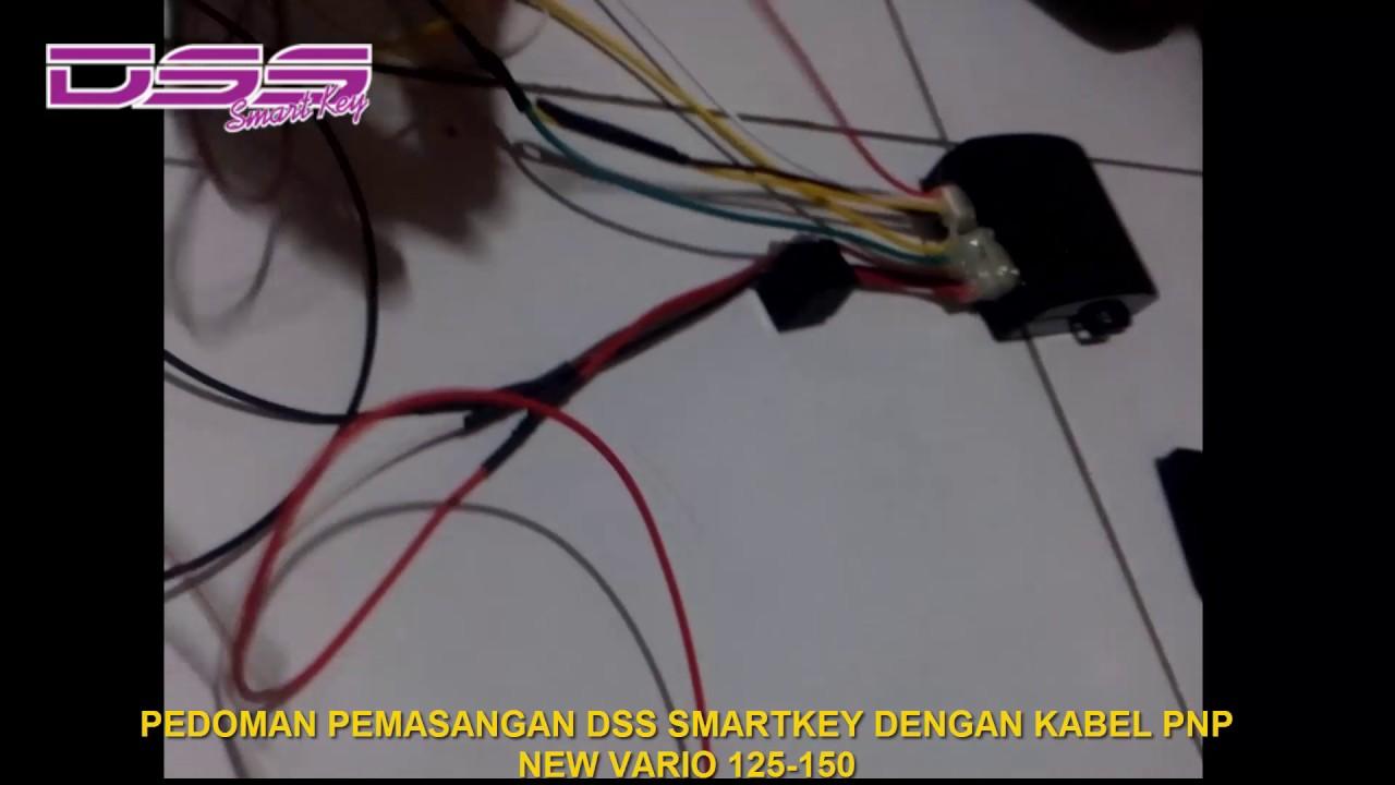 Wiring Diagram Kelistrikan Honda Vario : Pedoman pemasangan dss smartkey di new vario 125 150 dengan kabel