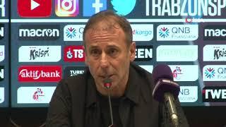 Abdullah Avcı, Trabzonspor galibiyetini değerlendirdi