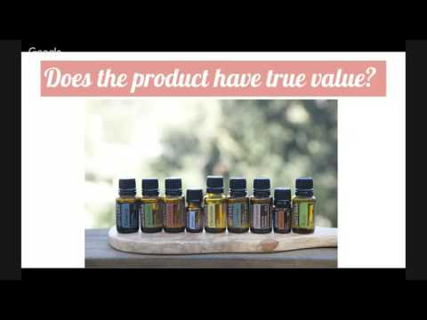 The dōTERRA Business Opportunity