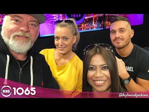 Cyrell & Eden On Their Baby News  KIIS1065 Kyle & Jackie O