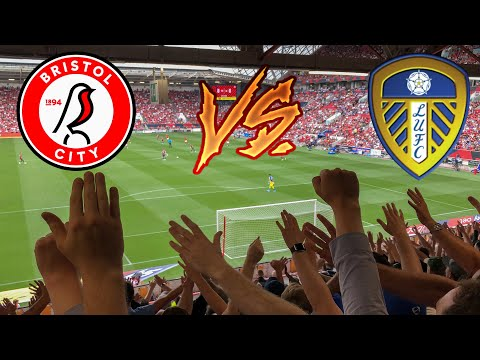 BRISTOL CITY 1-3 LEEDS UNITED - AWAY DAY SCENES | QUALITY PERFORMANCE!!!🤩 (04/08/19)