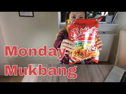 Monday Mukbang water snail noodle soup