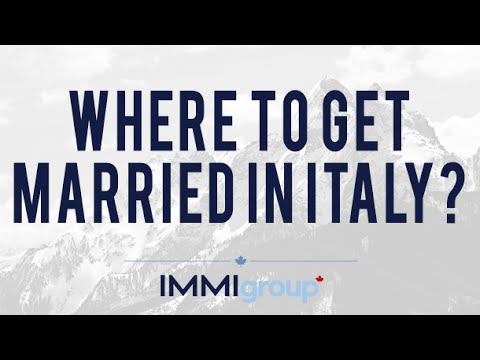 Where to get married in Italy?
