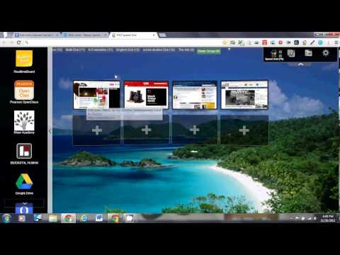 Interactive Whiteboard Solution using Google Chrome and Speed Dial and Chrome Apps (Video 5)