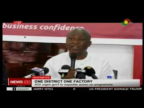 AGI urges gov't to expedite one district on factory programme