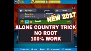 8 Ball Pool Alone Country Trick for Android [no root] [100% work] 2017