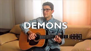 Demons Imagine Dragons INSTRUMENTAL Fingerstyle Guitar Cover
