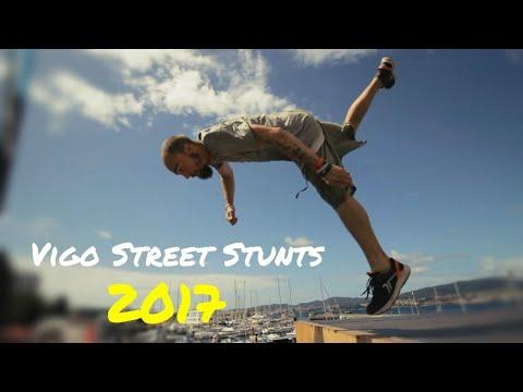 Vigo Street Stunts 2017 Parkour & Freerunning