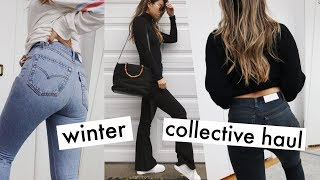 New-in Winter Collective Haul | re/done, Zara, TopShop!