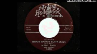 Mabel Scott - Boogie Woogie Santa Claus (Hollywood 1023)