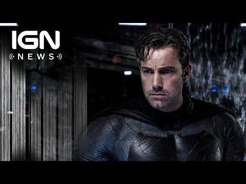 Justice League: New Batman Tactical Batsuit Revealed - IGN News