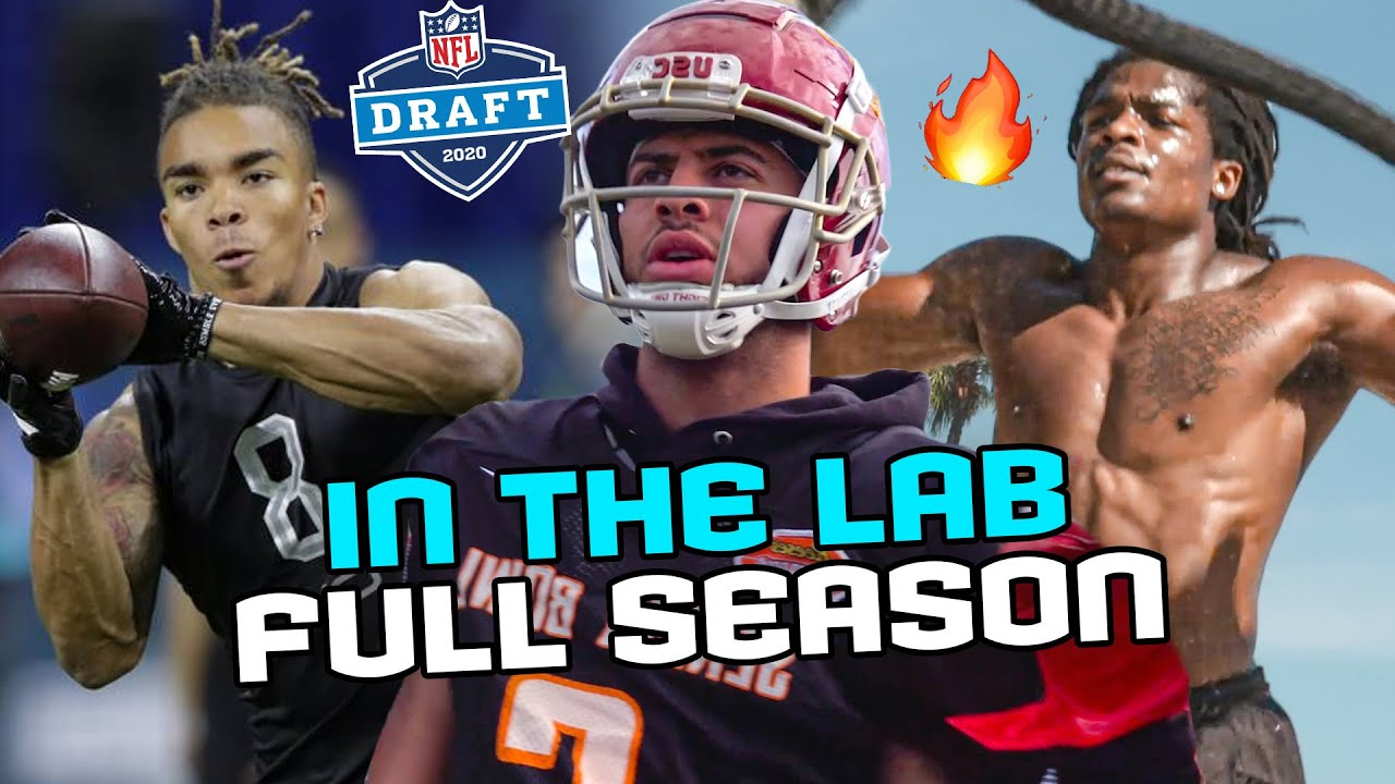 How Chase Claypool, Brandon Aiyuk & Top College Stars Prepped For The NFL DRAFT! Behind The Scenes 😳