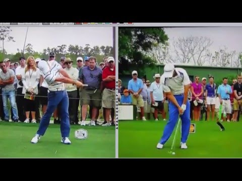 Louis Oosthuizen - Slow motion golf swing analysis
