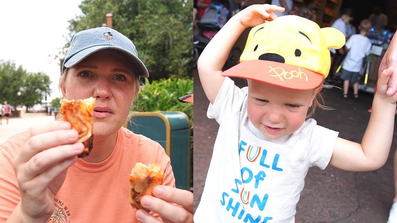 A Fun Day At Disney's Magic Kingdom! | Ride Firsts, Testing New Spring Rolls & Rainy Day Cavalcades!