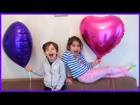 Rüya'ya Sürpriz Uçan Balon Aldık Sürpriz Yaptık