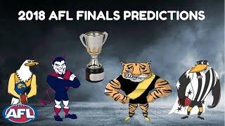 My 2018 AFL Finals Predictions