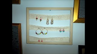 DIY Jewelry Hanger/Holder Thumbnail