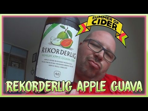 Rekorderlig Apple & Guava Review | Summer Of Cider