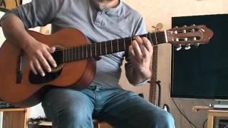 Un accompagnement guitare pour L