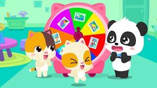 Yuk Main Roda Berputar-putar Yang Berwarna-warni | Lagu Anak-anak | BabyBus Bahasa Indonesia