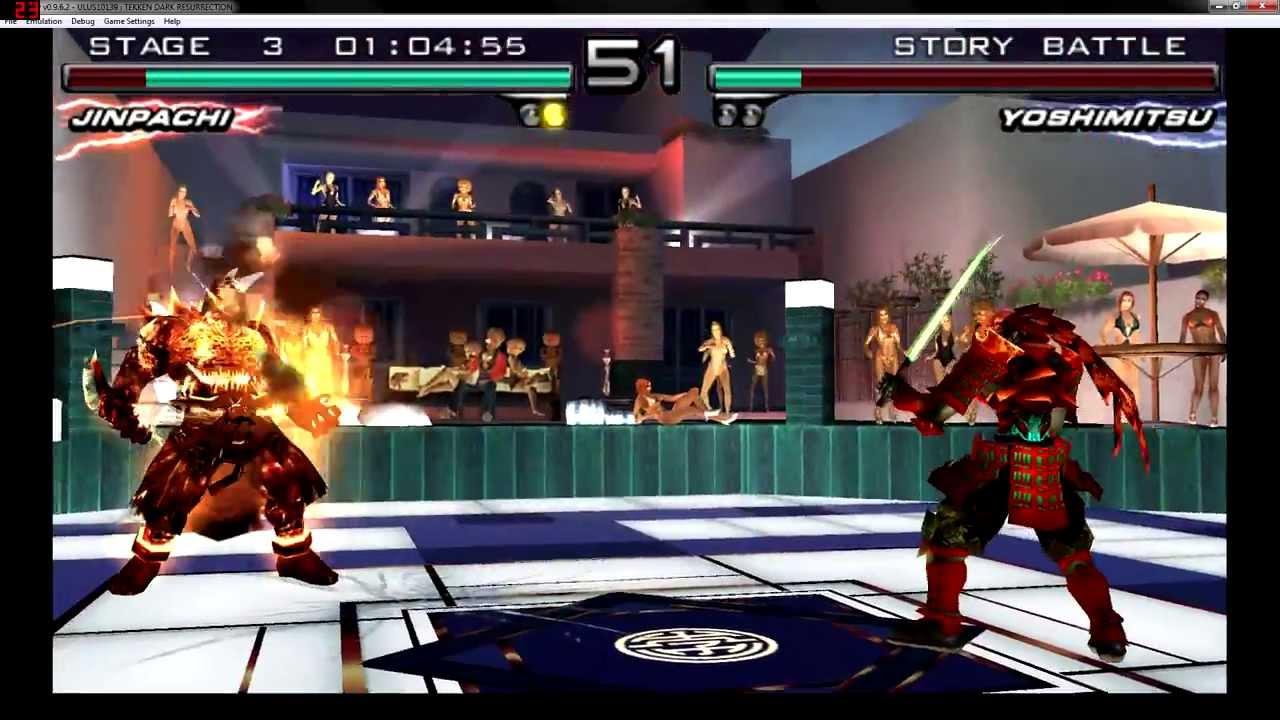 Tekken 5 Dark Resurrection Jinpachi Monster Story Mode Ppsspp